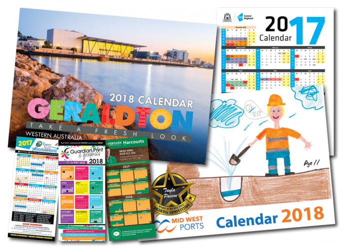 Guardian Print & Graphics Calendars